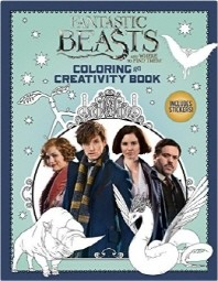 Fantastic Beasts and Where to Find Them -Coloring and Creativity Book