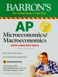 [해외]AP Microeconomics/Macroeconomics with 4 Practice Tests