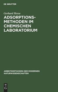 Adsorptionsmethoden im chemischen Laboratorium