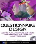 Questionnaire Design CD부록 있음