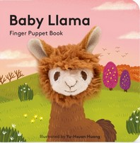 Baby Llama: Finger Puppet Book