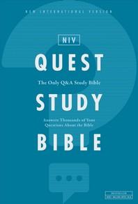 [해외]Niv, Quest Study Bible, Hardcover, Comfort Print