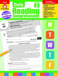 [해외]Daily Reading Comprehension, Grade 8 (Paperback)