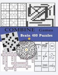 [해외]Combine Games Brain 400 Puzzles