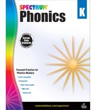 Spectrum Phonics Grade. K