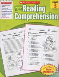 Scholastic Success with Reading Comprehension Grade. 3