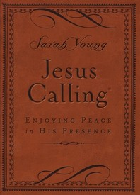 [해외]Jesus Calling (Brown Leathersoft)