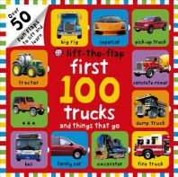[해외]First 100 Trucks and Things That Go Lift-The-Flap