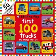 [해외]First 100 Trucks and Things That Go Lift-The-Flap