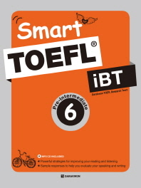 Smart TOEFL iBT Pre-Intermediate. 6(MP3CD1장)
