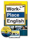 WORK-PLACE ENGLISH(CASSETTE TAPE 1개.CD 1개포함)