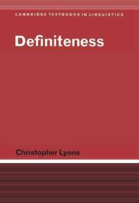 [해외]Definiteness (Hardcover)