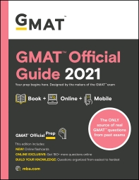 [해외]GMAT Official Guide 2021, Book + Online Question Bank