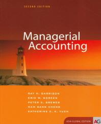 Managerial Accounting, 2/E(Asia G/E)