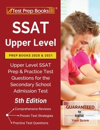 [해외]SSAT Upper Level Prep Books 2020 and 2021