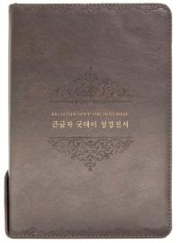 큰글자 굿데이 성경전서(NKR82WBU/개역개정/새찬송가/특대합본/색인/다크브라운)