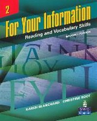 FOR YOUR INFORMATION. 2 (STUDENT BOOK)(SECOND EDITION)