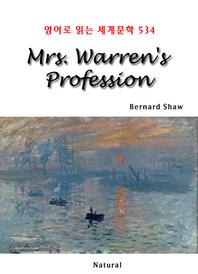 Mrs. Warren's Profession (영어로 읽는 세계문학 534)