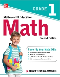 [해외]McGraw-Hill Education Math Grade 1, Second Edition (Paperback)