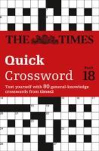 [해외]The Times Quick Crossword Book 18 (Paperback)