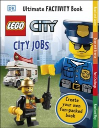 [해외]LEGO City City Jobs Ultimate Factivity Book