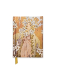 Alphonse Mucha the Flowers: Lily (Foiled Pocket Journal)