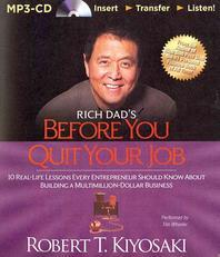 [해외]Rich Dad's Before You Quit Your Job (MP3 CD)