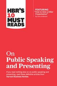 """[해외]Hbr's 10 Must Reads on Public Speaking and Presenting (with Featured Article """"how to Give a Killer Presentation"""" by Chris Anderson) (Paperback)"""