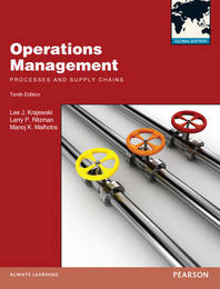 Operations Management : Processes and Supply Chains (Paperback)