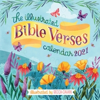 [해외]The Illustrated Bible Verses Wall Calendar 2021