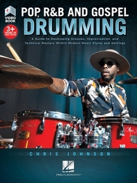[해외]Pop, R&B and Gospel Drumming by Chris Johnson - Book with 3+ Hours of Video Content
