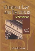 Criminal Law and Procedure 2/E:Introduction