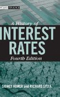 [해외]A History of Interest Rates (Hardcover)
