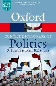 [해외]The Concise Oxford Dictionary of Politics and International Relations