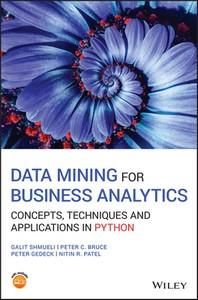 [해외]Data Mining for Business Analytics