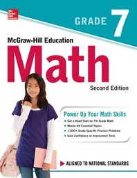 [해외]McGraw-Hill Education Math Grade 7, Second Edition (Paperback)