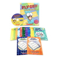 플라이 가이 Fly Guy Phonics Boxed Set (12 Books + 1 Audio CD)