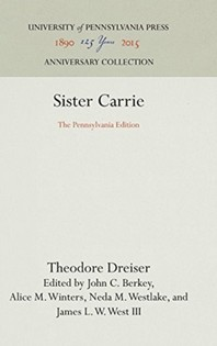 [해외]Sister Carrie (Hardcover)