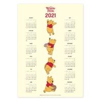 디즈니 곰돌이 푸 포스터 달력 2021