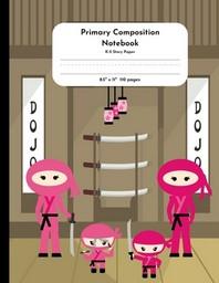 [해외]Primary Composition Notebook K-2 Story Paper 8.5 x 11 110 pages (Paperback)