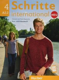 [해외]Schritte international Neu 4. Kursbuch+Arbeitsbuch+CD zum Arbeitsbuch