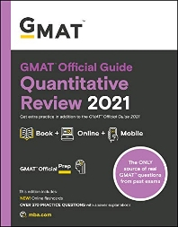 [해외]GMAT Official Guide Quantitative Review 2021, Book + Online Question Bank