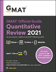 [해외]GMAT Official Guide Quantitative Review 2021, Book + Online Question Bank (Paperback)