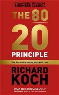 [해외]80/20 Principle (hardback)