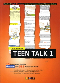 Teen Talk 1.(Student Book)(3판)(CD1장 포함)
