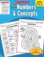 Scholastic Success with Numbers & Concepts, Grade Pre-K