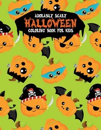 [해외]Adorably Scary Halloween Coloring Book For Kids