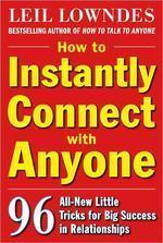 [해외]How to Instantly Connect with Anyone (Paperback)
