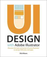 [해외]UI Design with Adobe Illustrator (Paperback)