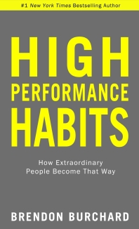 [해외]High Performance Habits